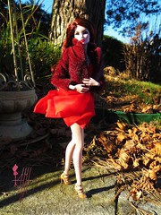 Autumn upon us.. (AHMH - Coutre) Tags: autumn shoes fashiondoll erins eugenia decorum ahmh inrouges