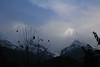 Birethanti To Ghandruk 29 (Mabacam) Tags: nepal cloud foothills snow mountains trekking walking landscape outdoors scenery hiking peaks annapurna 2015 ghandruk annapurnasouth hiunchuli ghandrung birethanti annapurnafoothills