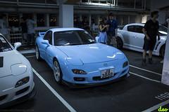 Mazda RX7 (Eric C. (DSO)) Tags: pink hot green ford car skyline vw honda amazing arch nissan infinity awesome wheels wide rob motors turbo porsche bmw works hatch custom jam tuning lamborghini m2 350z nix supercars gtr vwgolf ep3 lambo mugen vtec nissangtr hondansx fordfocusrs focusrs fd2 370z golfr 235m 1013mm lp700 dedicatedshoutout copaze mugerr