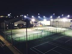 Night tennis (helfelsba1) Tags: tennisbutatnight tenniscourt tenniscourts tennis nighttennis