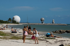you will tan here (rovingmagpie) Tags: beach florida tan keywest radar radome forttaylor fortzacharytaylorhistoricstatepark sfi2015
