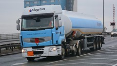 FY63 HNP (panmanstan) Tags: truck wagon transport renault lorry commercial vehicle hull premium freight tanker haulage hgv a63