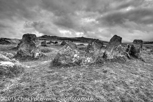 Nine Stones, Belstone, Dartmoor