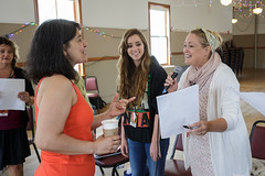 Maucha Adnet leads vocalist class at 2015 Port Townsend Jazz Workshop (Centrum Foundation) Tags: usa wednesday jazz workshop porttownsend wa centrum vocalists 2015 mauchaadnet jazzporttownsend sejames