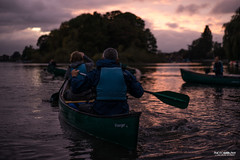 Richmond at Dusk (Glenn Radford GRP) Tags: life eve trees winter sky orange london water thames night race river boats photography 50mm prime evening boat nikon europe dusk secret united glenn paddle kingdom row richmond canoe jacket canoes boating rowing late adventures canoeing d800 radford paddles grp thameside