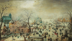Hendrick Avercamp - Winter Landscape with Ice Skaters, 1608 at Rijks Museum Amsterdam Netherlands (mbell1975) Tags: winter holland art ice netherlands dutch amsterdam museum painting landscape golden gallery museu with fine arts grand muse skaters musee age museo nl masters rijksmuseum musuem muzeum noordholland niederlande finearts nederlanden beaux rijks beauxarts mze gallerie hendrick musum niederland 1608 avercamp