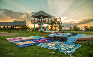 Prayer Rugs at Sunset