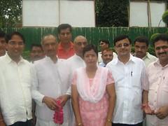 Indu Verma J P Agarwal (J P Agarwal DPCC Delhi www.jaiprakashagarwal.com) Tags: j d c p garg rakesh indu riyaz verma agarwal sabnam