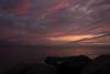 Bellport, NY (Vicki from Yaphank) Tags: sunset sun ny beach bay rocks peace bluesky longisland serene pinksky sunchaser