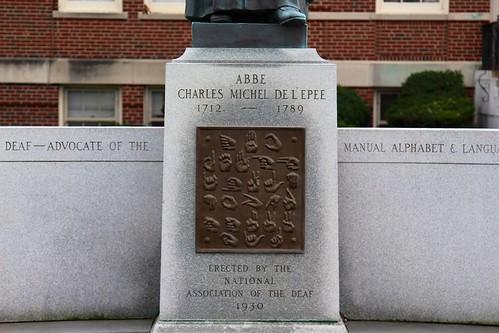 Manual Alphabet close-up sign