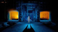 Our legacy (palateth) Tags: portrait lightpainting night industrial oven belgium belgique belgie special burning urbanexploration ig urbex lightart fireproof steelindustry