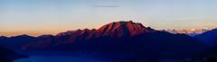Alba sul Gridone (Andreas Gerber) Tags: mountain lake sunrise canon eos switzerland tessin ticino suisse alba andreas maggiore svizzera montagna sul gerber 50d gridone lenzuoli limidariolago