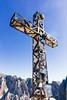 Plattkofel summit (Jérôme...) Tags: campitellodifassa trentinoaltoadige italien südtirol dolomiten langkofelgruppe plattkofel hiking summit gipfelkreuz summitcross 24mm iso200 f8 canonef24mmf28isusm italy mountains