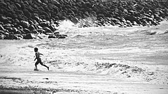 nugatory (Paul J's) Tags: newplymouth taranaki coastal landscape coastalwalkway tasmansea boy