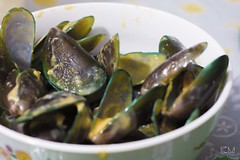 Salted Egg Mussels (khamer_manialung) Tags: salted egg mussels