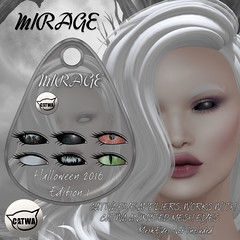 MIRAGE-CATWA Halloween 2016 Edition_1 (MirageSL) Tags: catwa mesh eyes second life sl mirage hud appliers