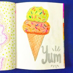 Day 24 of the #30daysketchbookchallenge / Missing summer already... #icecream #icecreamcone #summer #missingsummer #summerlove #drawing #sprinkles #yum #sweettooth #colorful #markers #sketch (Earmark Social Paper Goods) Tags: instagramapp square squareformat iphoneography uploaded:by=instagram skyline