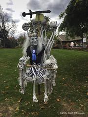 Game of Bones (scottnj) Tags: 299366 halloween halloweendecorations gameofthrones gameofbones skeleton whitewalker throne bone bones scary scottnj scottodonnellphotography cy365 365project redditphotoproject pa pennsylvania peddlersvillage