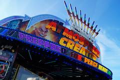 DSC02203 (A Parton Photography) Tags: fairground rides spinning longexposure miltonkeynes fireworks bonfire november cold