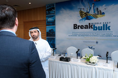 Breakbulk Middle East 2016 Official Press Conference (Transportation Conferences & Exhibitions) Tags: projectcargo middleeast adnec fta bbme2016