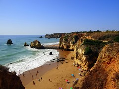 Praia do Pinho (ndreia) Tags: sonydschx200v portugal algarve lagos praia beach 2016 praiadopinho