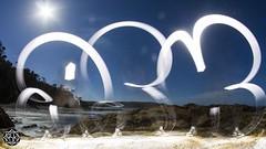 Ocean Flop (MISHKA Vision - Light Graffer) Tags: australie australia lightpainting lightgraff longexposure expositionlongue nightphotography roadtrip