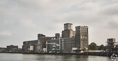 Vintage Harbour (PaaulDvD) Tags: rotterdam colors river maas netherlands boat water city urban