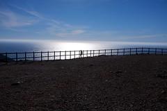 camouflage II (Bianca Kokolores) Tags: portugal nature fence digital colour fujix100 ocean vastness cliff