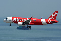 Thai AirAsia HS-BBQ (Howard_Pulling) Tags: hongkong airport hk china howardpulling nikon d7200 camera picture transport asia