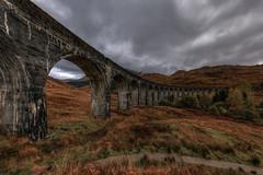 Glenfinnan Viaduct - Scotland (Jan Hoogendoorn) Tags: scotland unitedkingdom gb glenfinnan viaduct harrypotter jacobitesteamtrain