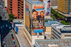 Braamfontein Buildings (Paul Saad) Tags: johannesburg bus color hdr souhafrica street buildings billboards braamfontein randlords rooftops