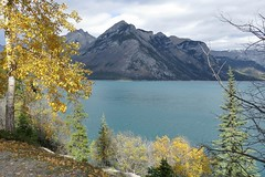 Lake Minnewanka (casparc) Tags: 2016 fall views canadianrockies lake lakeminnewanka