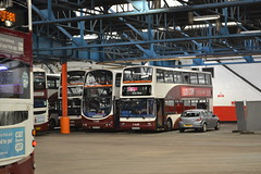 Lothian Buses 654 SK52OHR - 841 SN57DDK - 641 SK52OGZ (Will Swain) Tags: edinburgh central depot open day 24th september 2016 lothian bus buses transport travel uk britain vehicle vehicles county country scotland scottish north northern city centre garage shed yard visitors 654 sk52ohr 841 sn57ddk 641 sk52ogz