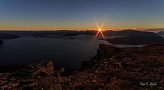 October sunset in Kvnangen (Dan F Skovli) Tags: canon skovli samyang14mm kvnangen jkelfjord autumn utptur friskluft sun sunset hst mrketid ngc