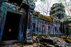 Iridescent (Arbron) Tags: cambodia taprohm asia2015 rajavihara siemreap temple   krongsiemreap kh