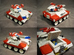 Smok - Main Battle Tank (Śląski Hutas) Tags: lego bricks tank laser poland polska tracked machine gun scifi futristic