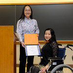 Professor Frances Wang, Jing Luo: Nancy Hirschberg Award