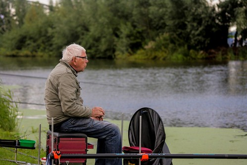 Als ze me missen, ben ik vissen (4)