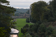 The Abbey from the Surprise View (CoasterMadMatt) Tags: fountainsabbey2016 fountainsabbey fountains abbey cistercianabbey cistercian englishabbeys monastery monasteries ruin ruins ruined fountainsbyfloodlight floodlight studleyroyalpark2016 studleyroyalpark studleyroyal studley royal abothubysbelltower belltower bell tower fadinglight fading light surpriseview surprise view building structure architecture englishheritage heritage history nationaltrust thenationaltrust yorkshire yorks northeastengland england britain greatbritain gb unitedkingdom uk october2016 autumn2016 october autumn 2016 coastermadmattphotography coastermadmatt photos photographs photography nikond3200