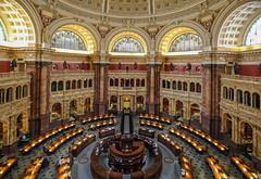 Library of Congress (E.K.111) Tags: interiors inside internaldesign architecture historicalplaces lowlightphotography lowlight
