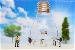 Not such a bright idea (Pikebubbles) Tags: davidgilliver davidgilliverphotography smallworld itsasmallworld thelittlepeople littlepeople miniature miniatures miniatureweekly miniatureart miniart toys toy toyart creative creativephotography fineartphotography myartbroker