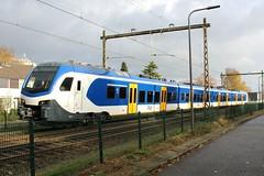 NS Flirt 2513 te Velp (erwin66101) Tags: ns flirt stadler rail testtrein testrit test trein rit station velp zutphen arnhem cs centraal