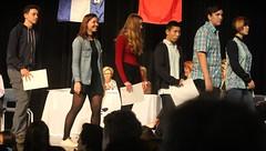 Hazel Walking Off the Stage (m.gifford) Tags: lisgarawards awards lisgar ottawa hazel