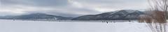 """Ice fishing National Park """"Samarskaya Luka"""" (yurypetrov) Tags: panoramas ice fishing national park samarskaya luka winter"""