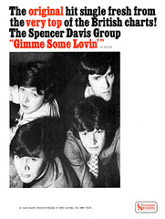 1966 The Spencer Davis Group - Gimme Some Lovin' (Al Q) Tags: 1966 spencer davis group gimme some lovin united artists records