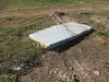 rode the mattress (TMQ.st.louis) Tags: mattress trash litter garbage abandoned bed field mud weed trashbit
