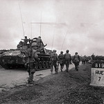 Hue 1968 - Troops and Tanks Moving into War Zone thumbnail