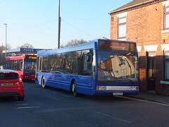Andrews FD02SFK Brimington (Guy Arab UF) Tags: andrews tideswell fd02sfk optare excel l1180 bus brimington chesterfield derbyshire independents buses go goodwins nottingham city transport 560