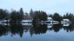 Cottage Row (deanspic) Tags: lakelouisa cottage reflection 100paddles 112100 g3x