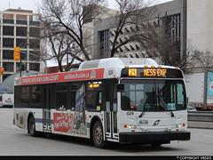 Winnipeg Transit #624 (vb5215's Transportation Gallery) Tags: winnipeg transit 2012 new flyer d40lfr